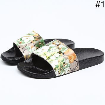 GUCCI summer new style casual comfort simple wild word drag F0463-1 #1