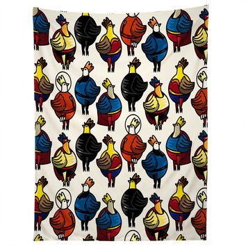 Raven Jumpo Super Chicks Tapestry