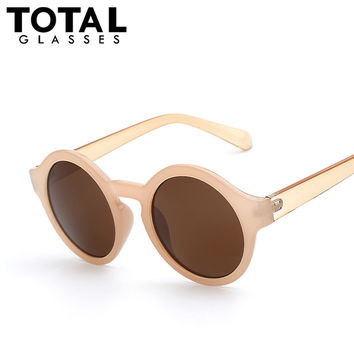 Round Circle Sunglasses Women Retro Vintage Sun glasses for Women Brand Designer Sunglasses Female Oculos Gafas De Sol Mujer