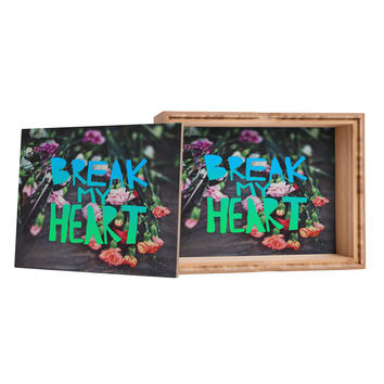 Leah Flores Break My Heart Storage Box
