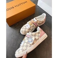 shosouvenir  Louis Vuitton Women Fashion Frontrow Sneaker