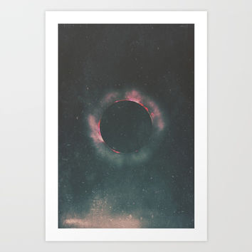 The Dark Sun Art Print by DuckyB