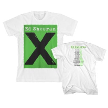 White Multiply Tour T-shirt