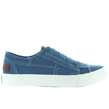 Blowfish Marley - Sky Blue Antique Canvas Slip-On Sneaker