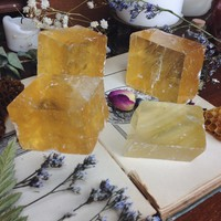 rough honey calcite from The Opaque