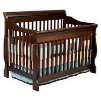 Delta Children's Products - Canton 4-in-1 Convertible Crib in Cherry Espresso