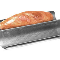 Professional Nonstick Perforated French Bread Pan (16x8-in.) by Chicago Metallic at Food Network Store