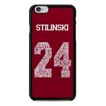 Stiles Quote Jersey Stilinski iPhone 6/6S Case