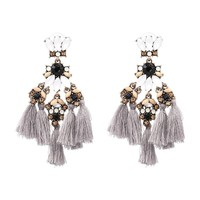 Boho Luxe Tassel Earrings