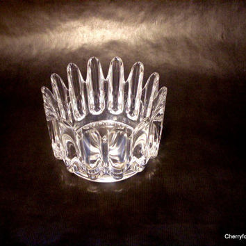 Orrefors, 'Princess' bowl, by Sven Palmqvist. Swedish vintage glass.