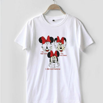 Disney Minnie Mouse T Shirt Women Men And Youth Size S to 3XL