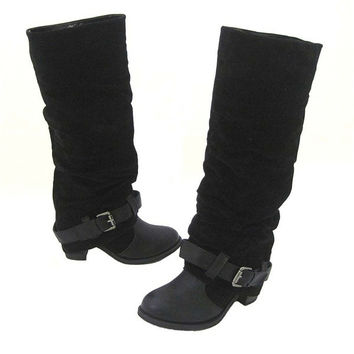Wanted Nevada - Black Knee-High Boot