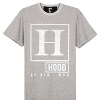 HOOD BY AIR BLACK RATED H T-SHIRT AUTHENTIC - A Very Based You
