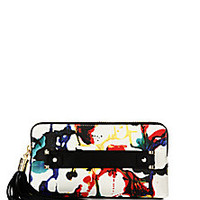 MILLY - Paint-Splatter Clutch - Saks Fifth Avenue Mobile