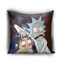 Personalized Rick and Morty galaxy Pillow case - Justvero