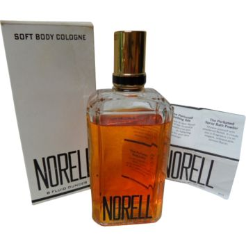 Vintage Norell 8 oz. Soft Body Cologne Still in Box