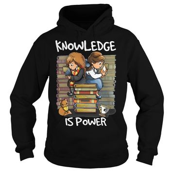 Hermione and Belle knowledge is power shirt Hoodie