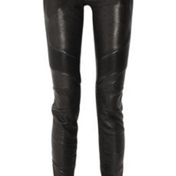 Balmain | Skinny leather pants | NET-A-PORTER.COM