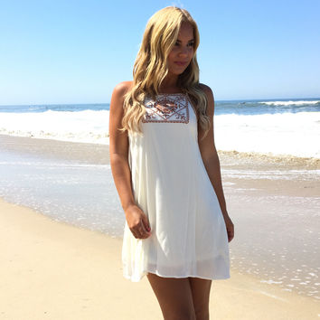 Off In The Meadow Shift Dress
