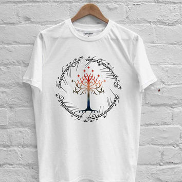 The Lord of The Ring Tree The Ring Space T-shirt Men, Women Youth and Toddler