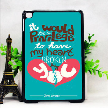 THE FAULT IN OUR STARS TUMBLR INSPIRED CUSTOM 2 IPAD MINI 1 | 2 | 4 CASES