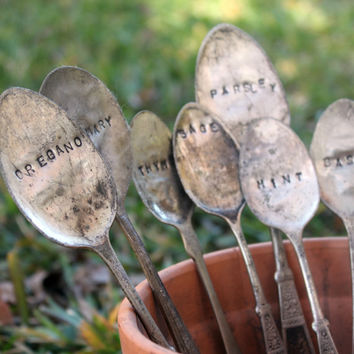 Herb Garden Markers - Build your own set