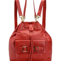 Robertson Leather Backpack by Juicy Couture