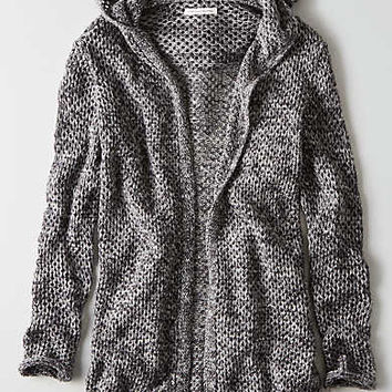 AEO Open Knit Cardigan, Lead