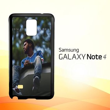 J Cole 2014 Forest Hills Drive  X4742  Samsung Galaxy Note 4 Case