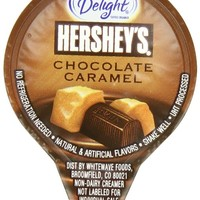 International Delight Hershey's Chocolate Caramel, 24 Count Single-Serve Coffee Creamers (Pack of 6)