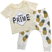 In My Prime Printed Infant Bodysuit Baby Romper