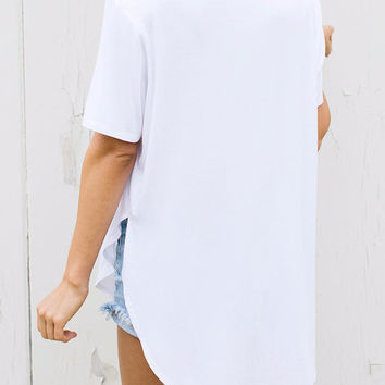 Joah Brown | Live in Slouchy Tee (White)