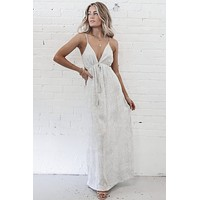 The good Side Maxi Tie Dress