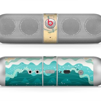 The Vector SeaShore Skin for the Beats by Dre Pill Bluetooth Speaker