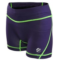 Women's UFC Purple Tight Fight Shorts