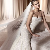 Cheap Pronovias Wedding Dresses - Style Andros - Only USD $394.40