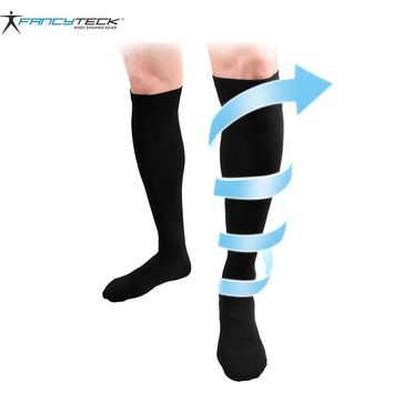 Long Miracle Compression Knee Socks Blood Circulation Stockings Breathable Fat burn leg slimming Socks Anti Fatigue Male Socks