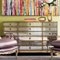 John-Richard Collection Orleans Mirrored Chest
