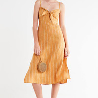 Faithfull The Brand Fiscardo Striped Midi Dress | Urban Outfitters