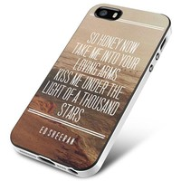 Ed Sheeran Thinking Out Loud Lyrics iPhone 5 | 5S | 5SE Case Planetscase.com