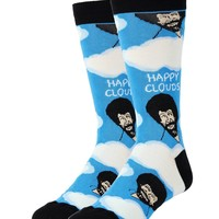 Bob Ross Happy Clouds Socks (Men's)