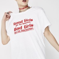 Backstage Girls Oversized Tee