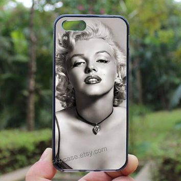 marilyn monroe,iphone 4 case,iPhone4s case, iphone 5 case,iphone 5c case,Gift,Personalized,water proof