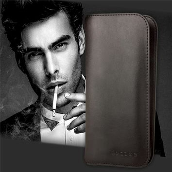 Genuine Leather Case for Coque Doogee S60 Case Wallet Flip Cover For Doogee S60 Etui Capinha