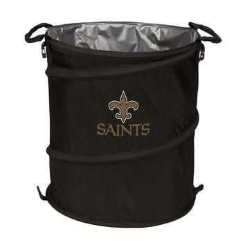New Orleans Saints NFL Collapsible Trash Can Cooler