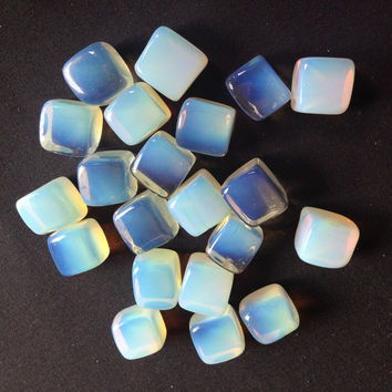 21 Pieces of Tumbled Opalite