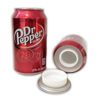 Dr Pepper 12oz Soda Pop Can Safe Hidden Storage Secret Diversion Fake Stash Away
