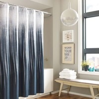 Kenneth Cole Horizon Cotton Shower Curtain