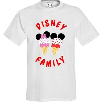 Youth Disney Family Ice Cream T-Shirt