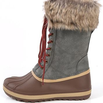 Bamboo Blizzard-02 Winter Duck Boots